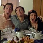 Brett, Ed, n me excited for turkey!