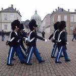 We arrived just in time to see the changing of the guard at Amalianborg