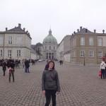 In front of Amalianborg Castle!