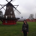 And then we found a windmill