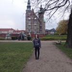 Outside Rosenborg Castle