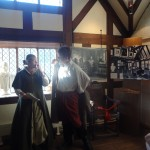 There are always actor's at Shakespeare's birthplace ready to perform for you!